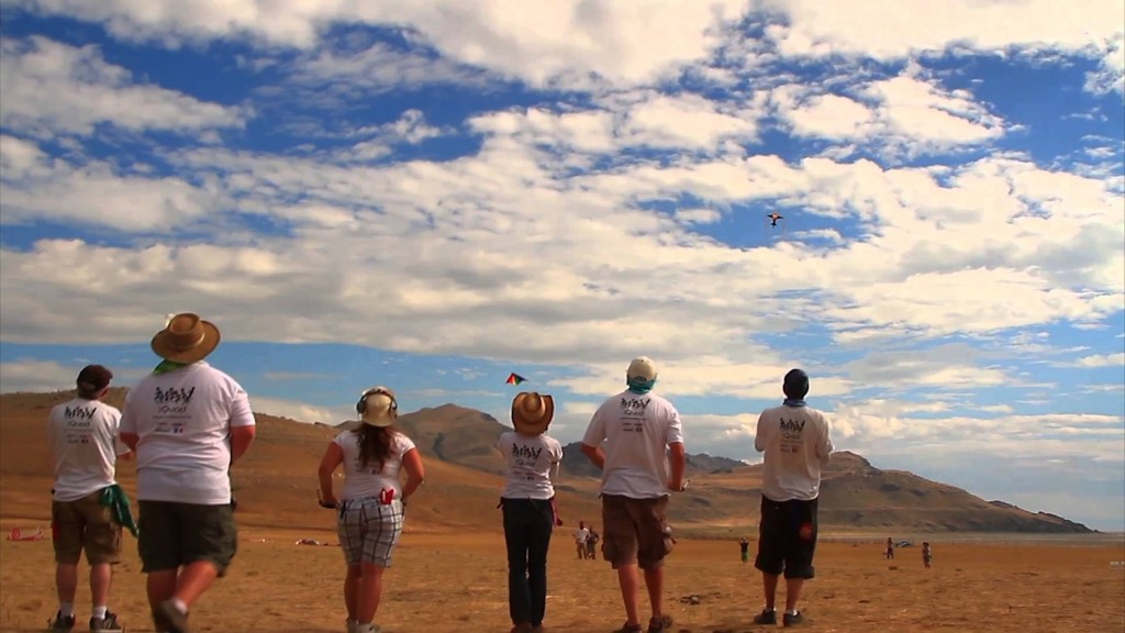Team iQuad Final Flight at Antelope Island Stampede Festival 2013